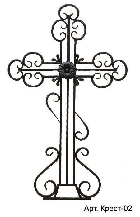 Православный крест на могилу из металла своими руками